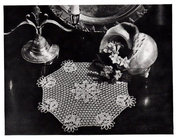 1942 crochet doily pattern