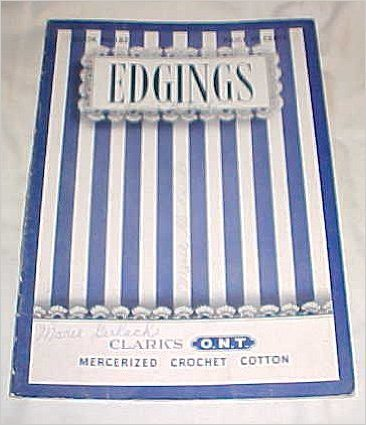 1942 crochet edgings book