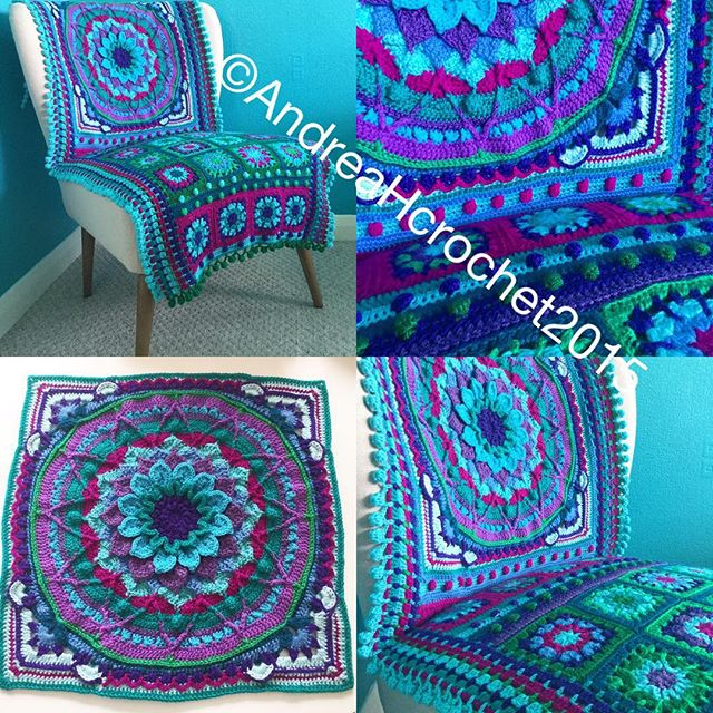 abluebirdonmyshoulder crochet enchanted garden square chair