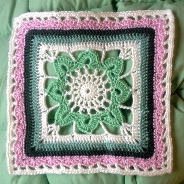 ahappycrocheter crochet aroundthebases CAL