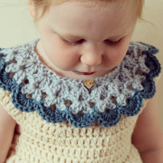 all_about_clare crochet baby collar