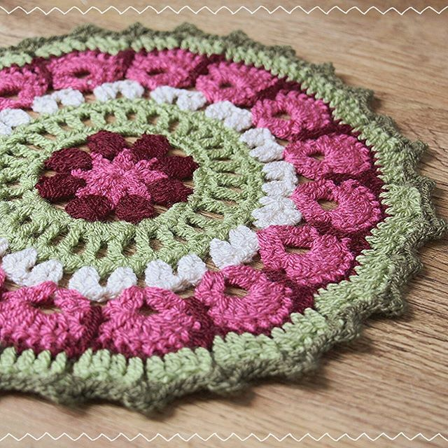 ambitiousjam crochet mandala