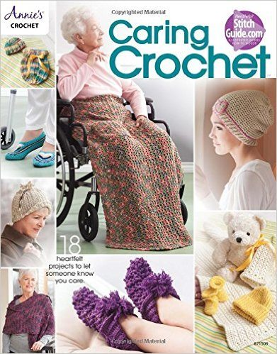 caring crochet book