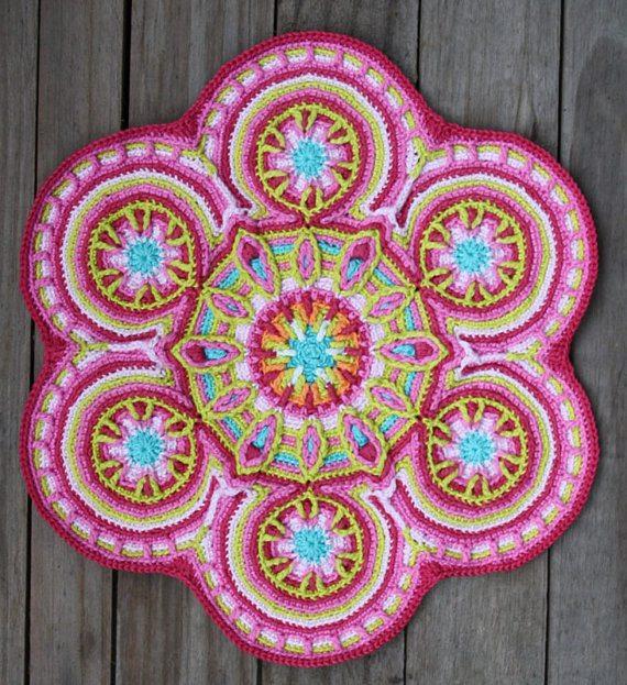 motif de mandala crochet carocreated