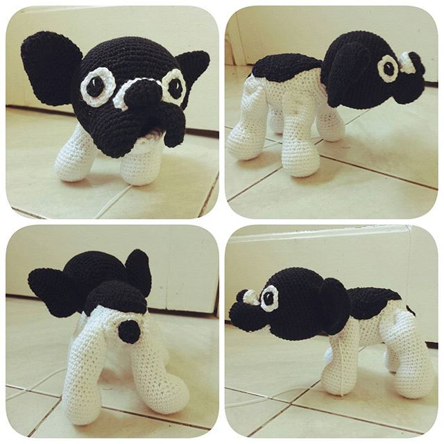 cattaryna crochet dog