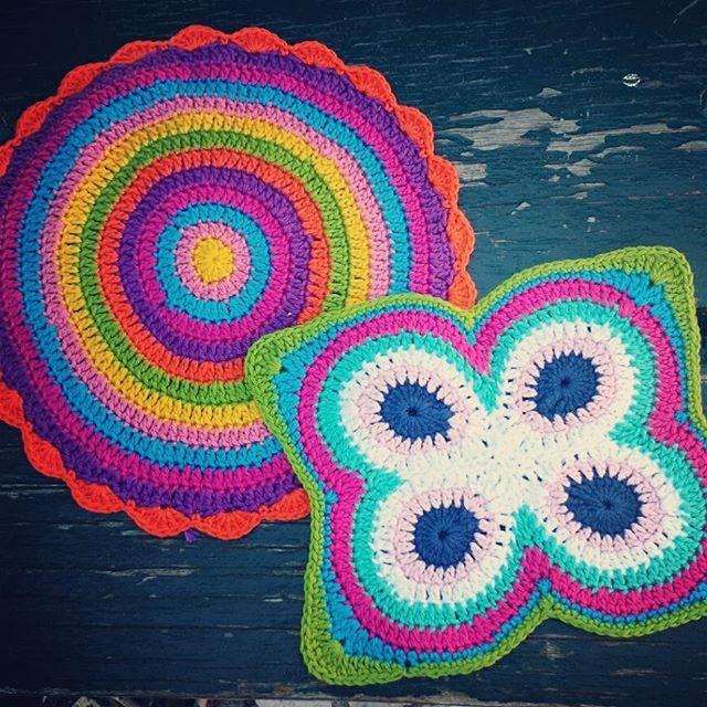 cattaryna crochet mandalas butterfly