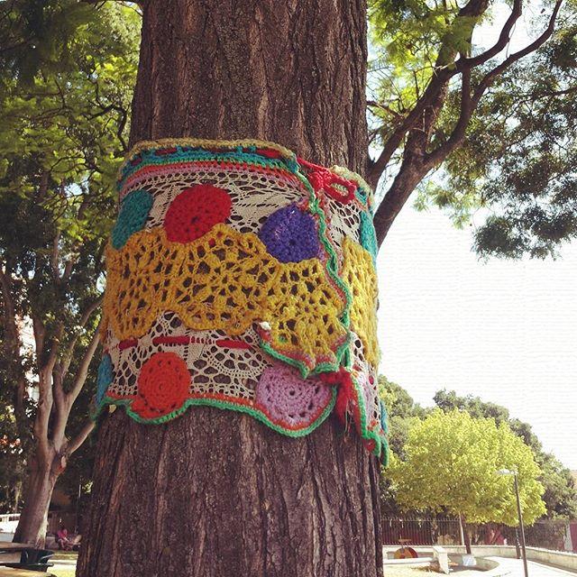cattaryna yarnbombing crochet