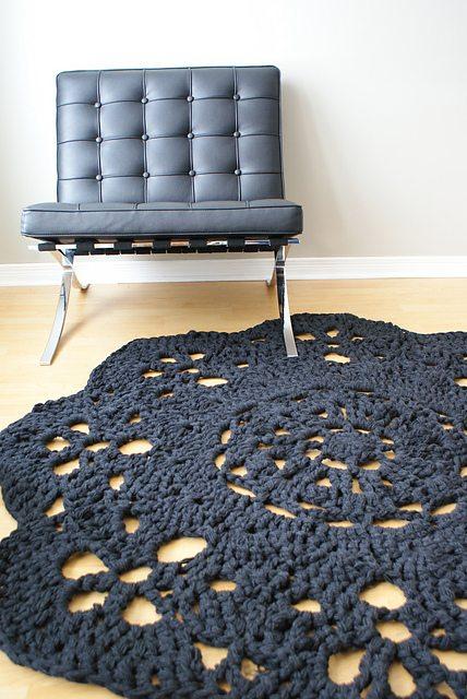 Super trapu modèle de tapis napperon en vente d'Erin Black