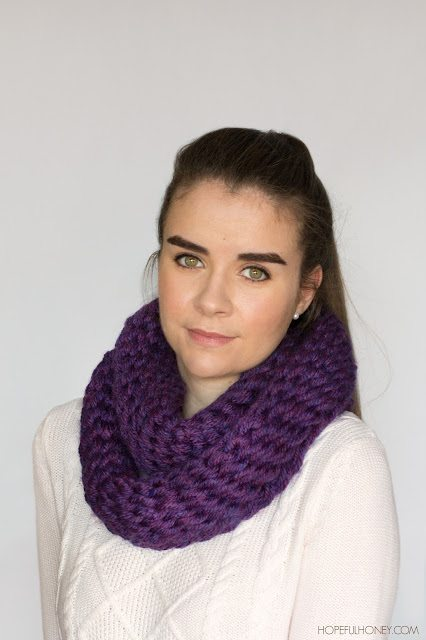 chunky finger crocheted scarf free pattern