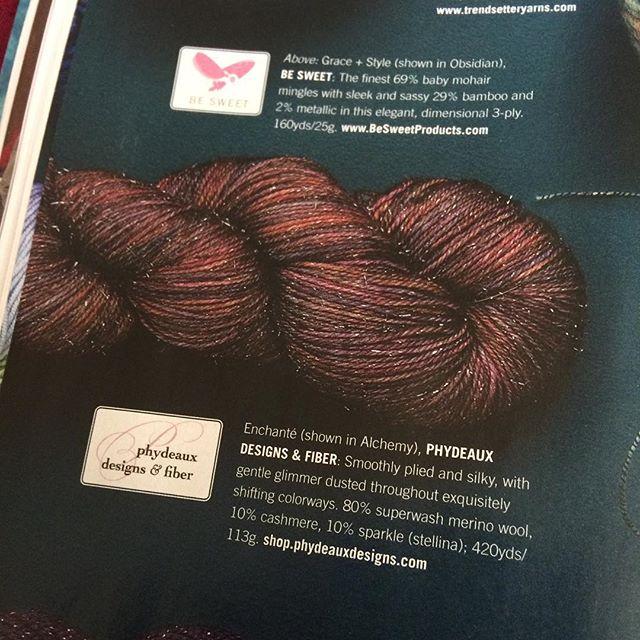 creativedesignsbysheila yarn in vogue knitting