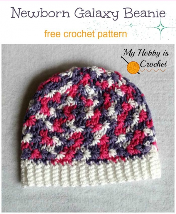 crochet baby beanie free pattern