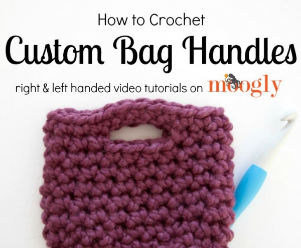 Crochet Bag Handle Tutorial : New Crochet Patterns and Other Crochet Awesomeness (Link ...
