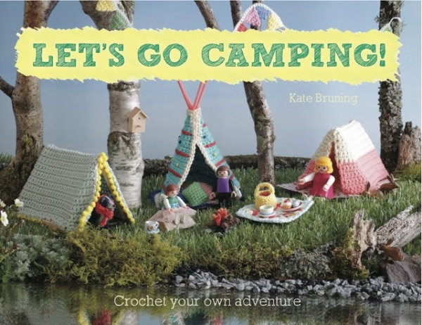 crochet camping adventure book
