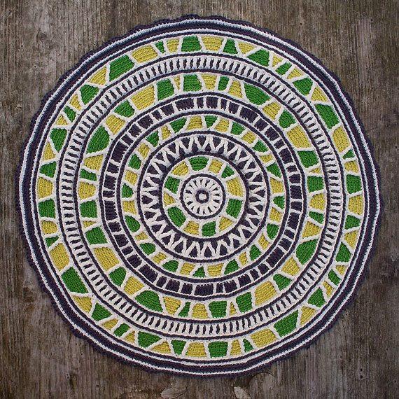 crochet circles mandala pattern by carocreated