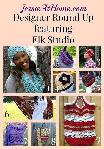 crochet designer elkstudio