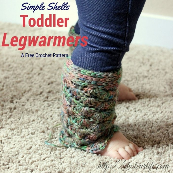 crochet legwarmers free pattern for kids