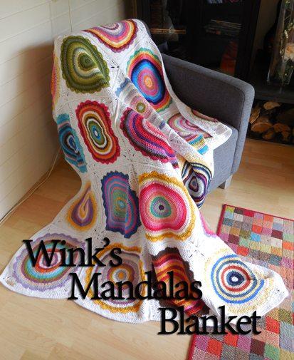 crochet mandala blanket pattern