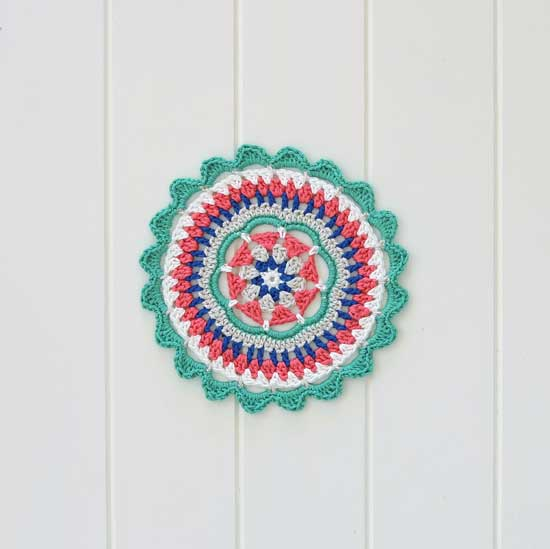 crochet mandala free pattern