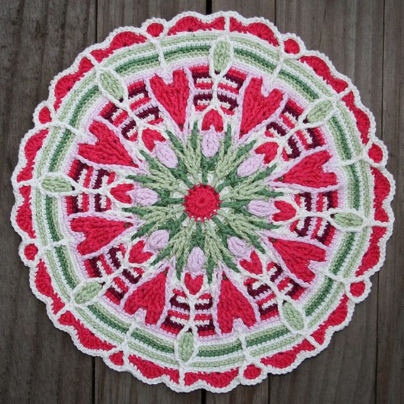 crochet pattern mandala da carocreated