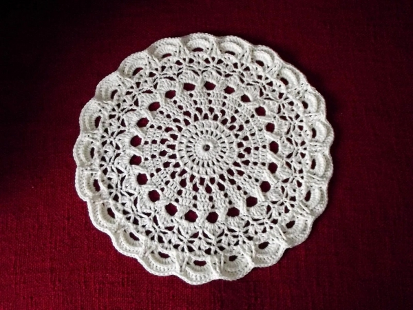 crochet mandala rug free pattern