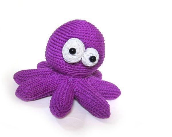 haak octopus patroon