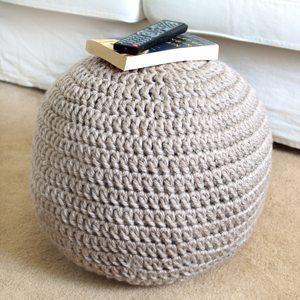 crochet ottoman pattern