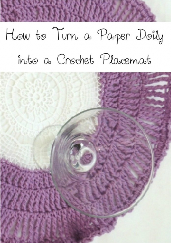 crochet plcacemat tutorial