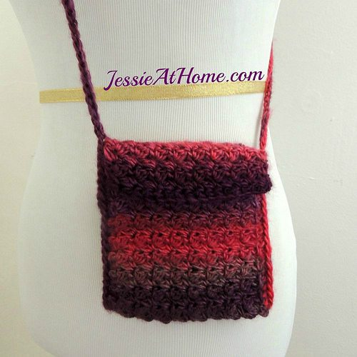 crochet purse free pattern from jessieathome