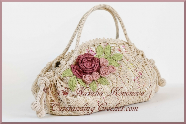 New Crochet Bags : Crochet purse pattern for sale from Outstanding Crochet - a vintage ...