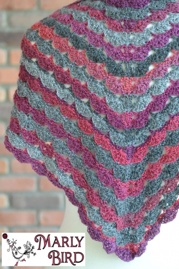 Free Crochet Pattern For A Virus Shawl : 150+ Plus libre 2015 Crochet Patterns