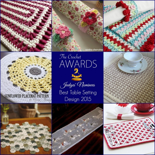 crochet table setting patterns
