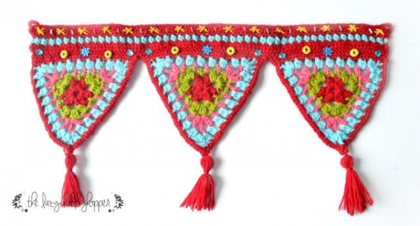 crochet wall hanging tutorial free