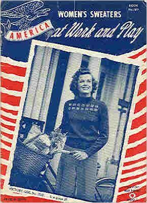 crochet women's sweaters 1942 patterns