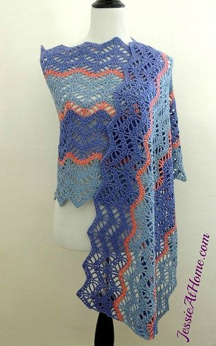 crochet wrap pattern by jessieathome