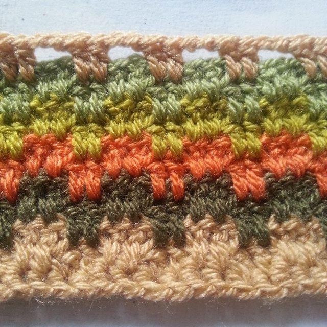 crochetbetweenworlds crochet blanket in progress