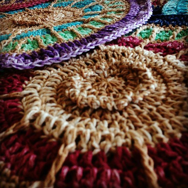 crochetbetweenworlds crochet mystery mosaic cal