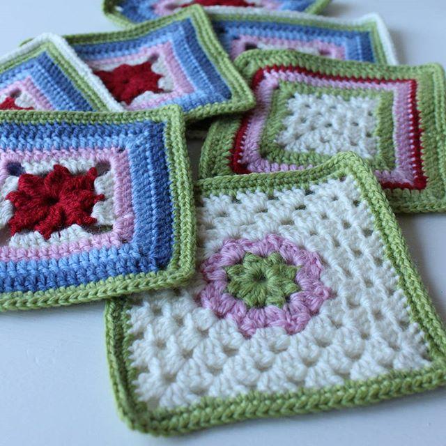 crochetgirl99 crochet squares