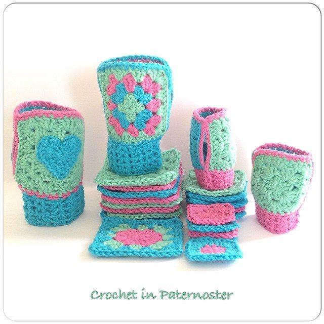 crochetinpaternoster crochet gloves