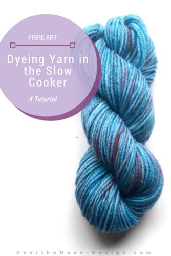 crock pot yarn dye