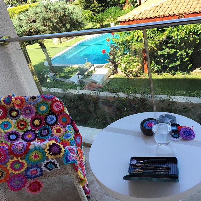 daisyaslihan crochet flower vacation