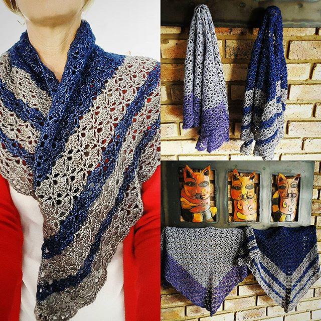elzavan912 crochet shawls