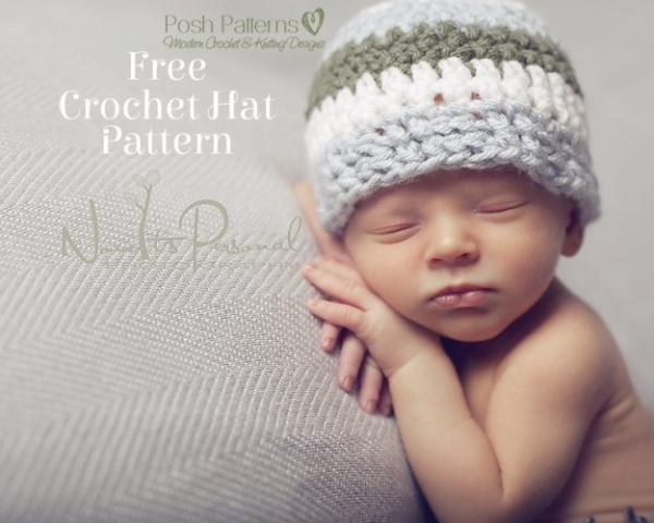 extended single crochet hat pattern