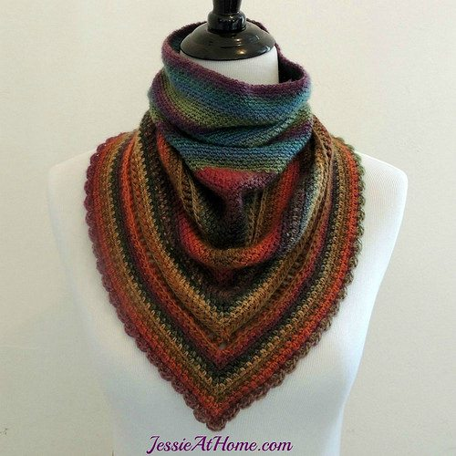 fall crochet cowl pattern