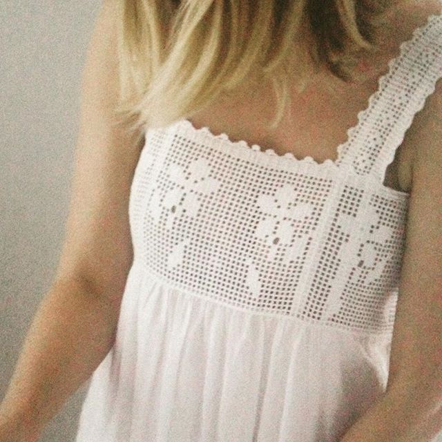 fiet crochet nightgown