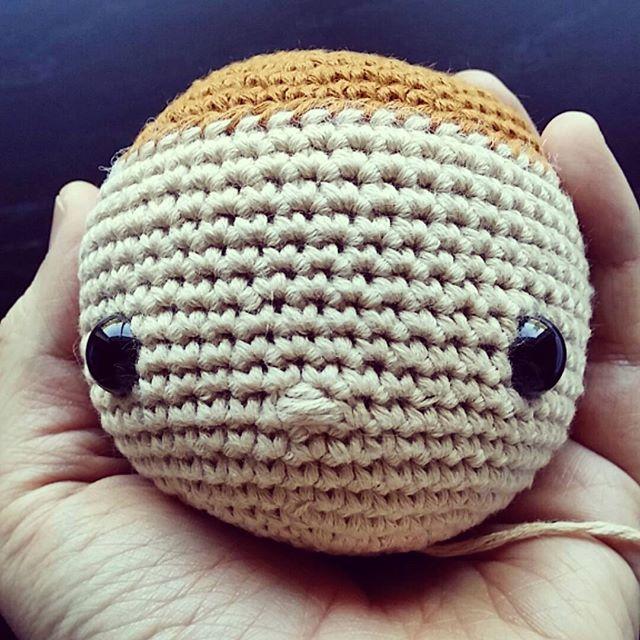 flamingpot crochet ami face
