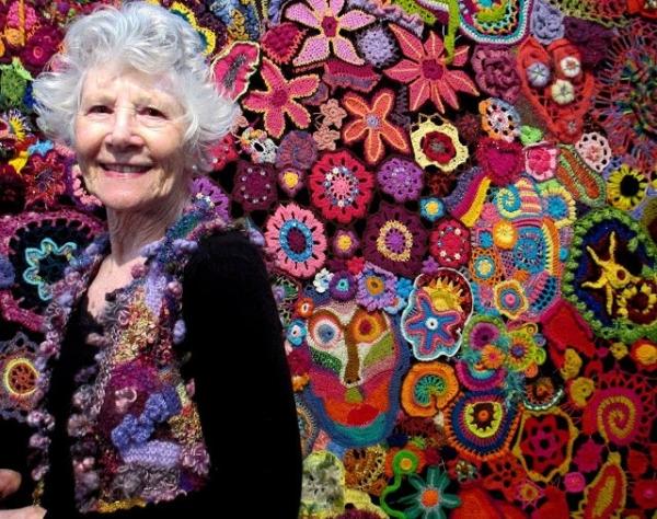 flower power crochet art canberra