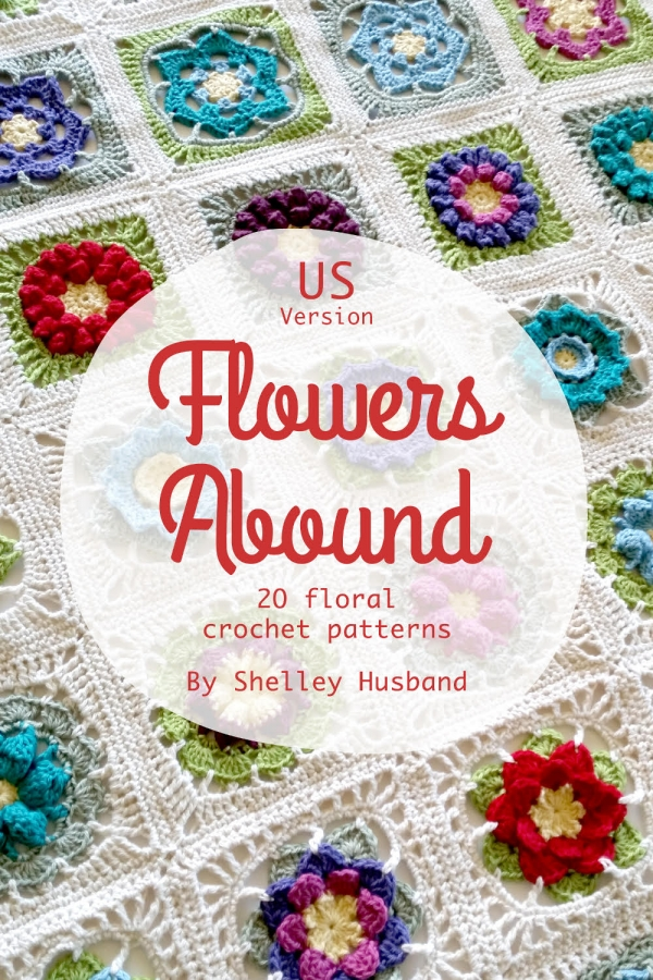 flowers abound crochet book