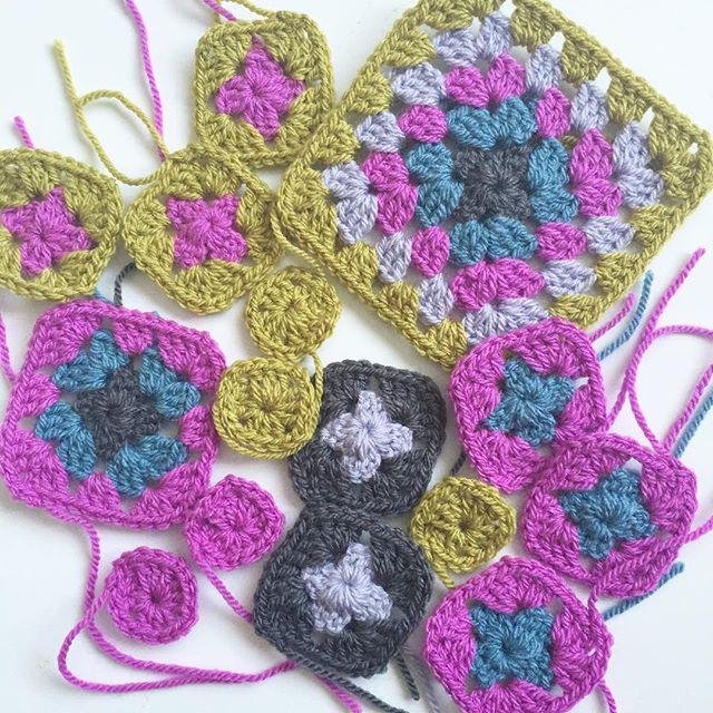 forever__autumn__ crochet granny square blankets
