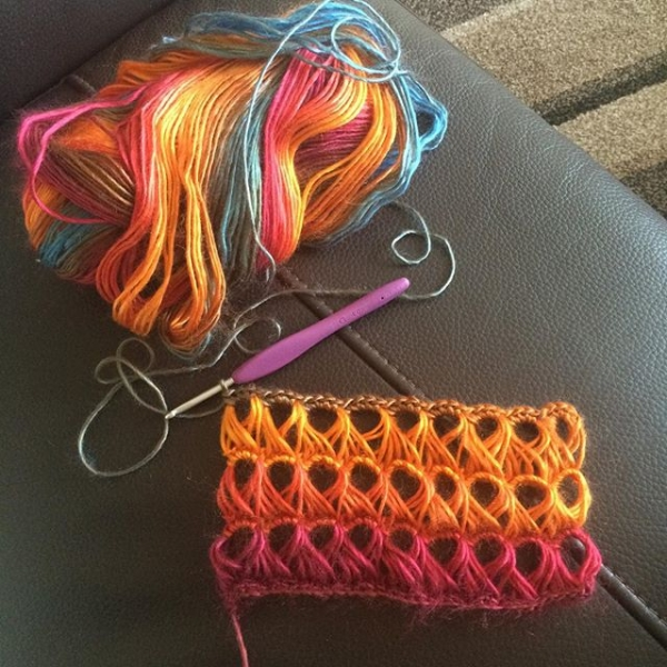 foxyloxy69 crochet broomsticklace