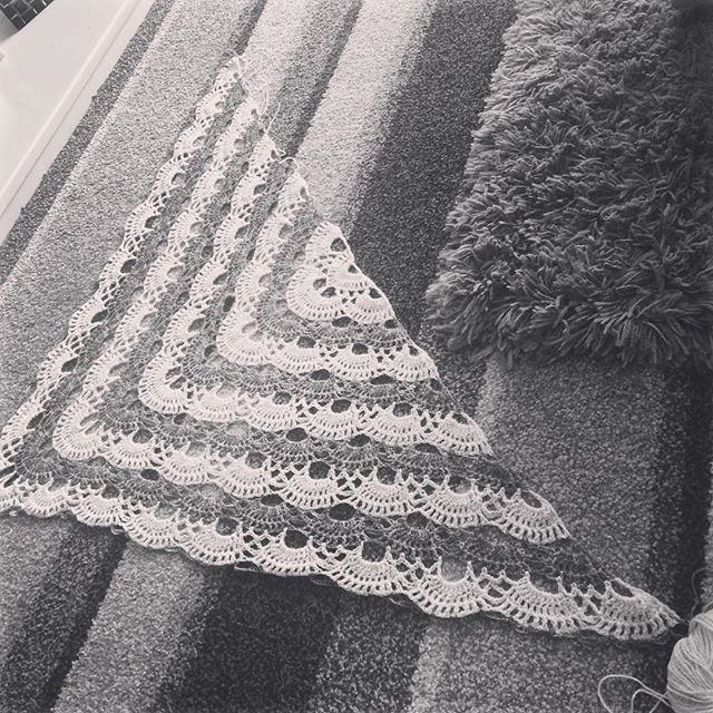 foxyloxy69 crochet shawl